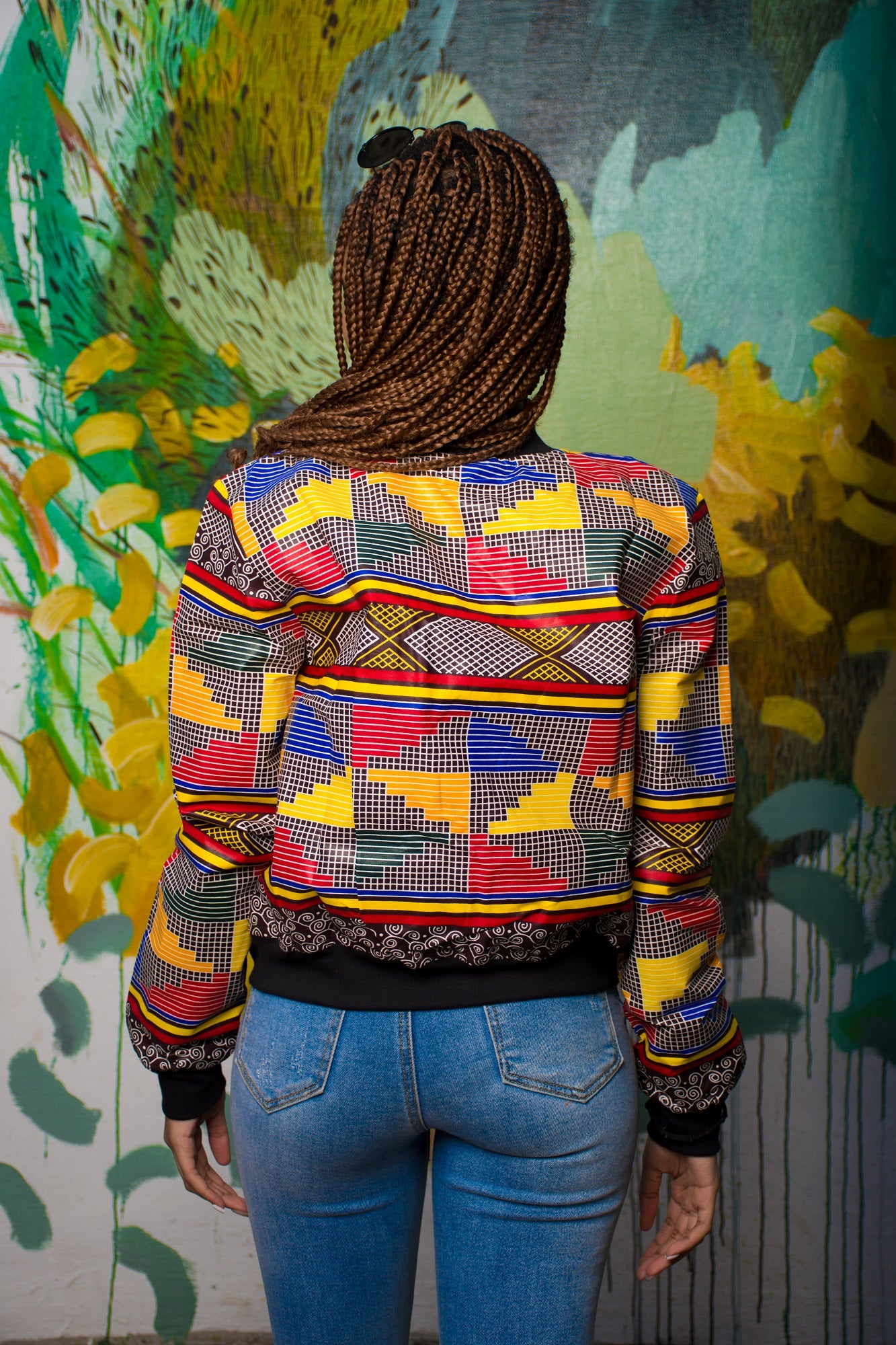 Ladies - Ndiwe Summer Bomber Jacket