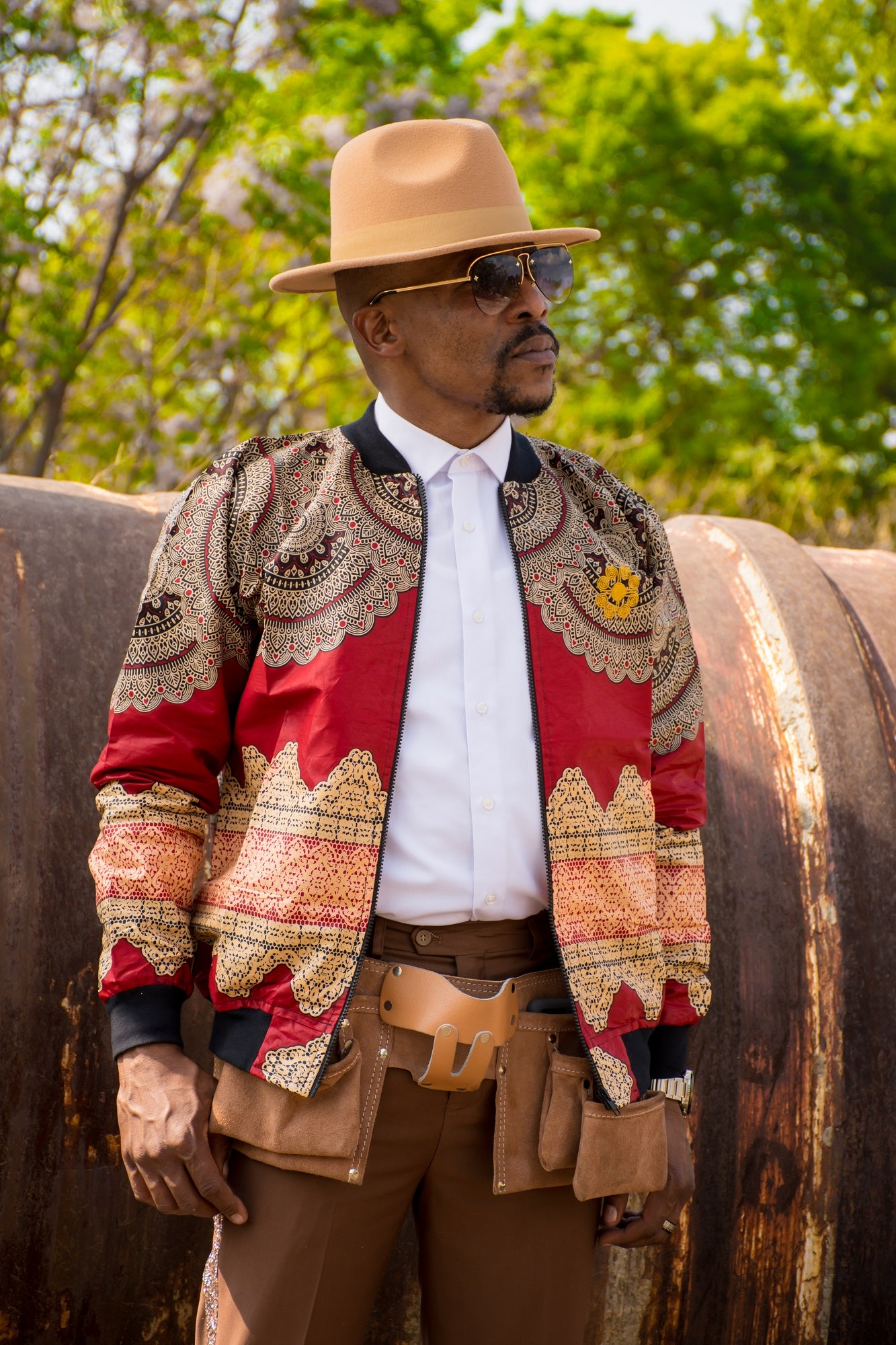 Mens - Menelik Summer | Luxe Edition | Bomber Jacket