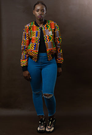 Ladies - Kentekini Summer Bomber Jacket