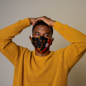 Lava - Ninja Face Mask (Branded)