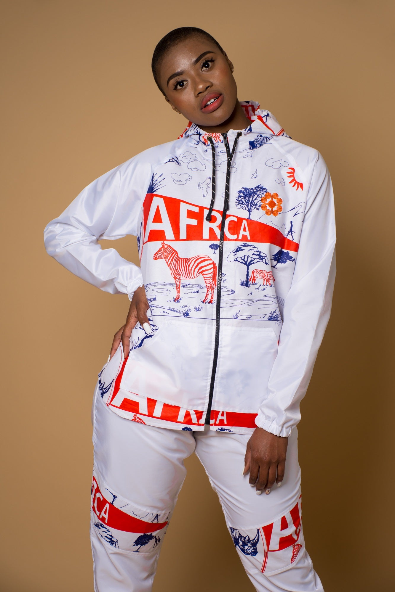 Ladies - Africa Windbreaker