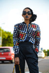 Ladies - Domino Summer Bomber Jacket
