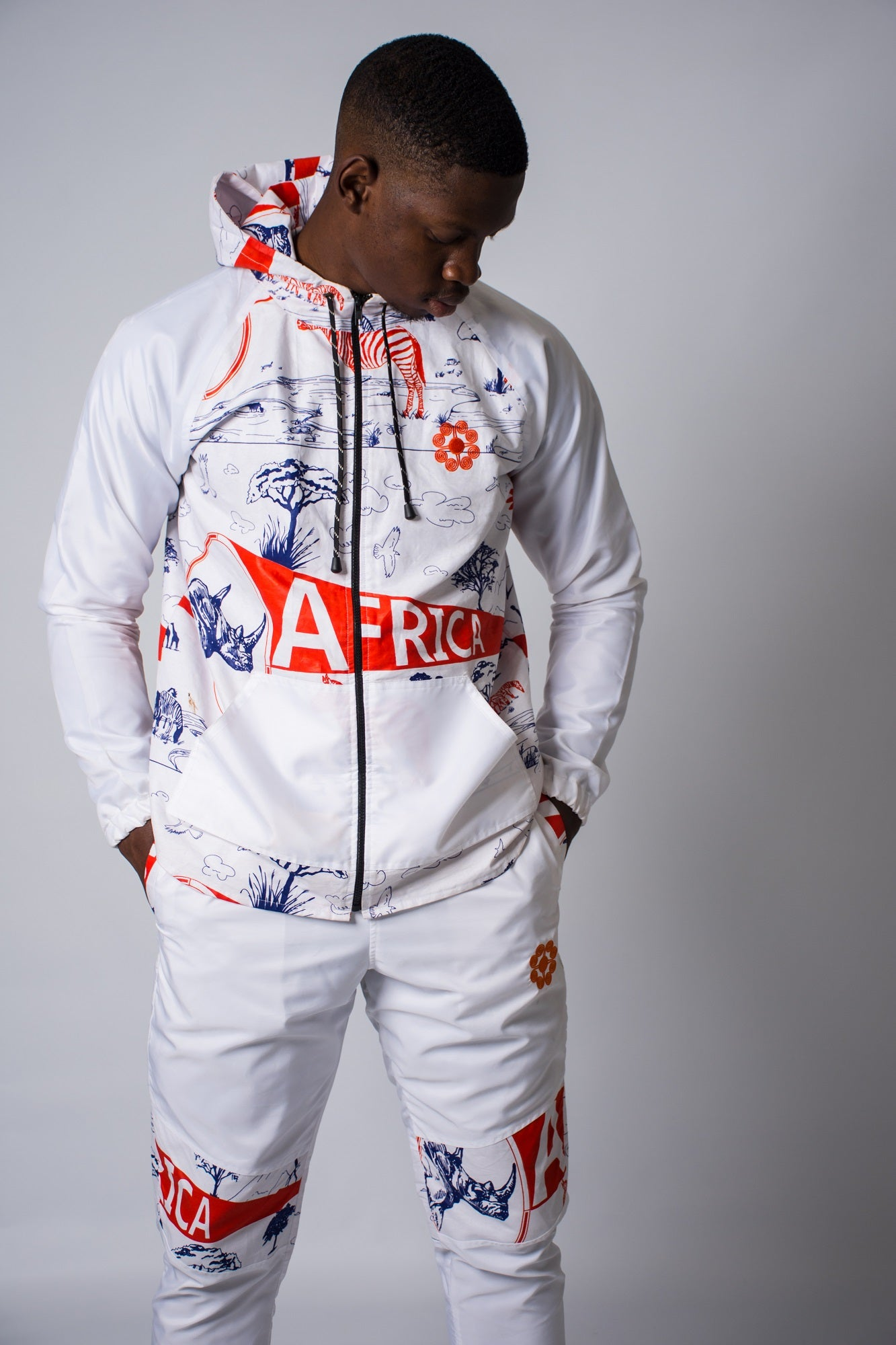 Mens - Africa Windbreaker