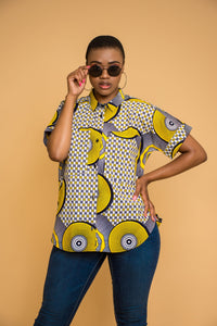Ladies - Tshiamo Oversized Shirt