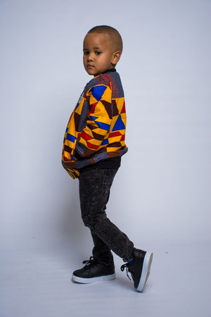 Boys - Big Kente Summer Bomber Jacket