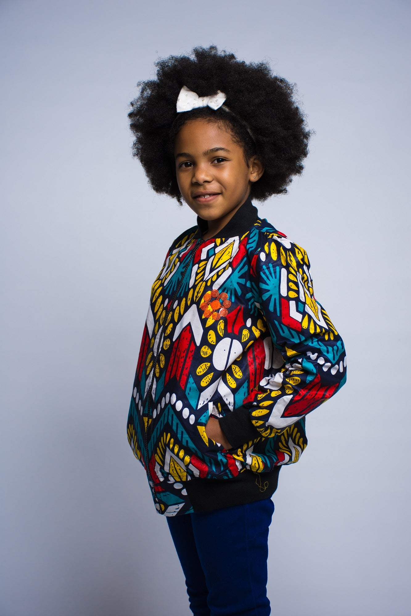 Girls - Lonwabo Summer Bomber Jacket