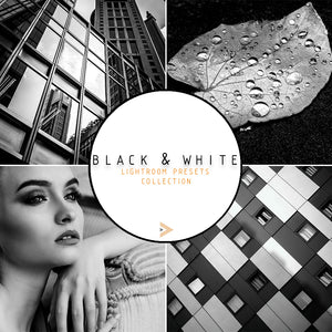Black & White - Lightroom Presets