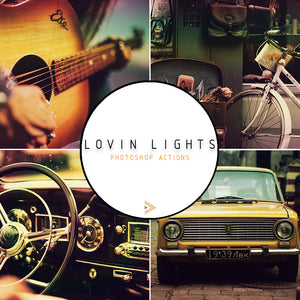 Lovin Lights - Photoshop Actions