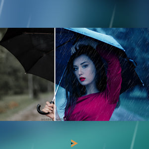 Rain Emotion - Photoshop Actions