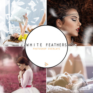 White Feathers - Overlays