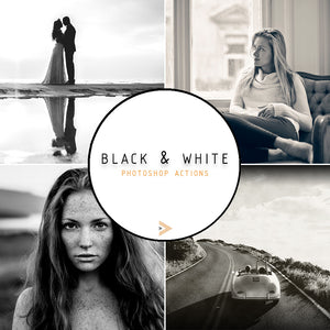 Black & White - Photoshop Actions