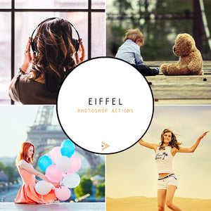 Eiffel - Photoshop Actions