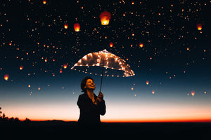 Flying Lanterns - Overlays