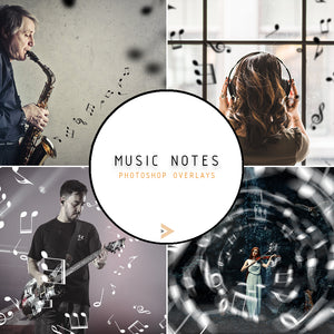Music Notes - Overlays