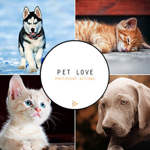 Pet Love - Photoshop Actions