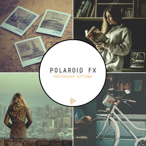 Polaroid Fx - Photoshop Actions