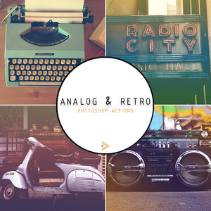 Analog & Retro - Photoshop Actions