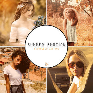 Summer Emotion - Photoshop Actions