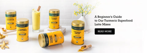 A Beginner's Guide to our Turmeric Superfood Latte Mixes