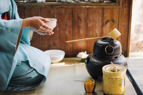 A typical Japanese Tea Ceremony