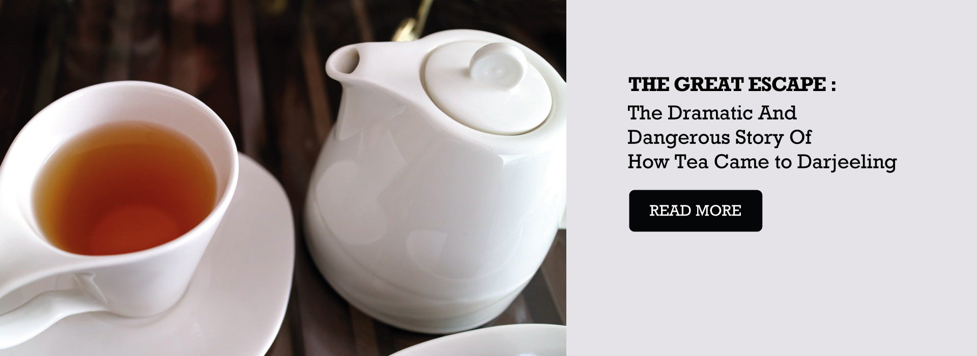 The Great Escape : The Dramatic And Dangerous Story Of How Tea Came to Darjeeling