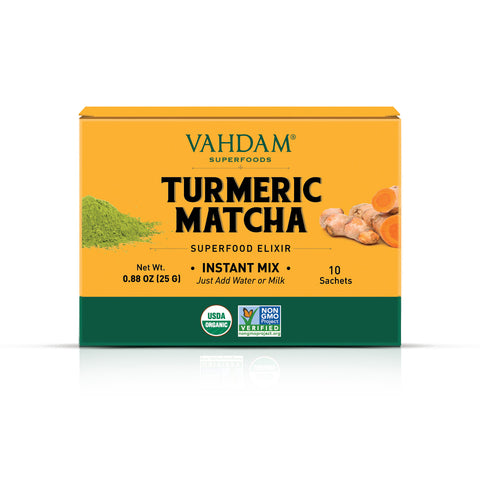 Turmeric Matcha Superfood Elixir