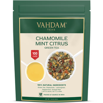 Chamomile Mint Citrus Green Tea Loose Leaf