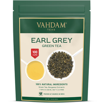 Earl Grey Darjeeling Green Tea | 7.06 Oz