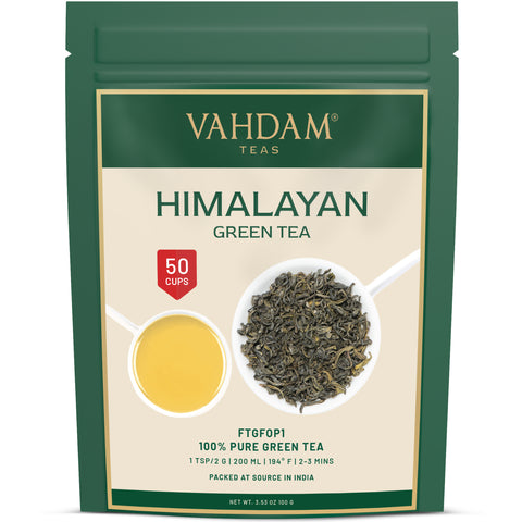 Himalayan Green Tea Loose Leaf -3.53oz