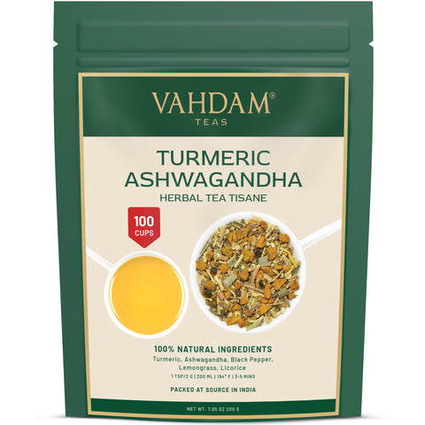 Turmeric Ashwagandha Herbal Tea Tisane