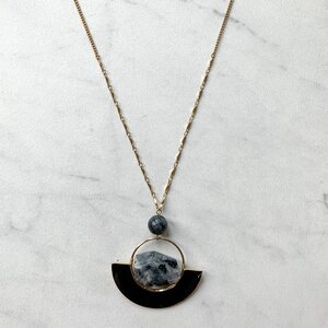 R&L Opposites Attract Necklace