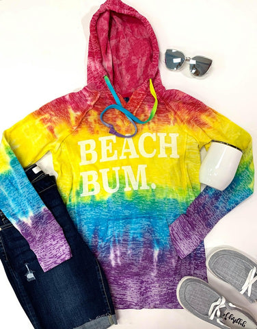 Beach Bum in the Tie Dye
