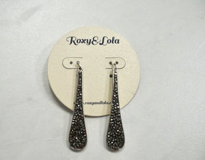 R&L Fade to Black Earrings