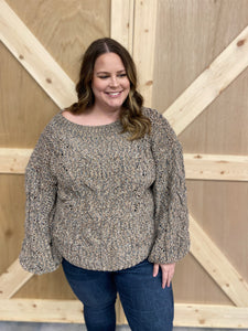 Molly's Mocha Sweater