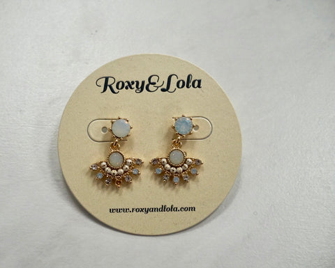 R&L Opalescence Stud Earrings