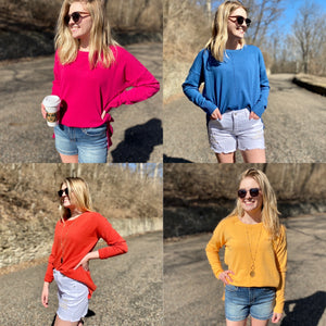 All Day Spring Sweater