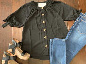 Bailey's Button Blouse