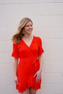 Sway This Way Red Dress