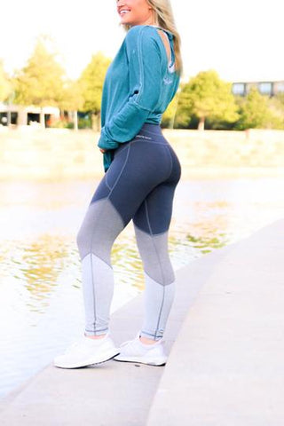 Dark Grey Triple tier leggings