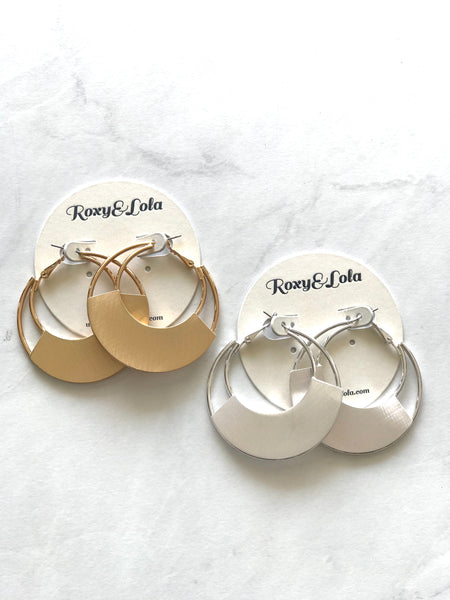 R&L A Little Bit Hippie Hoop Earring