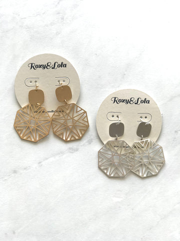 R&L Touch of Deco Earring