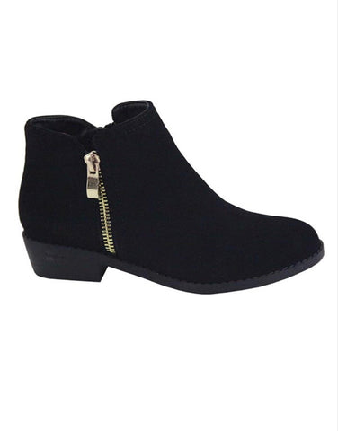 KIDS black booties