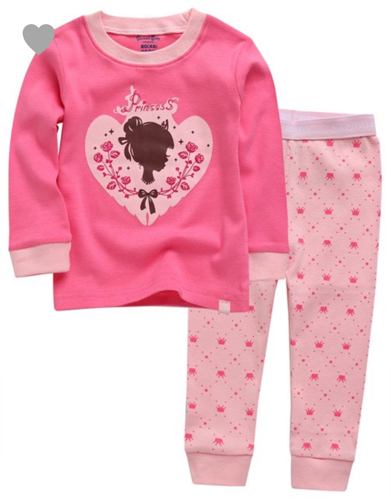 KIDS Princess jammie set