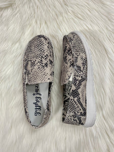 Simi Snake Slip On Loafers