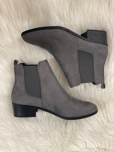 Grey Chelsea Boots