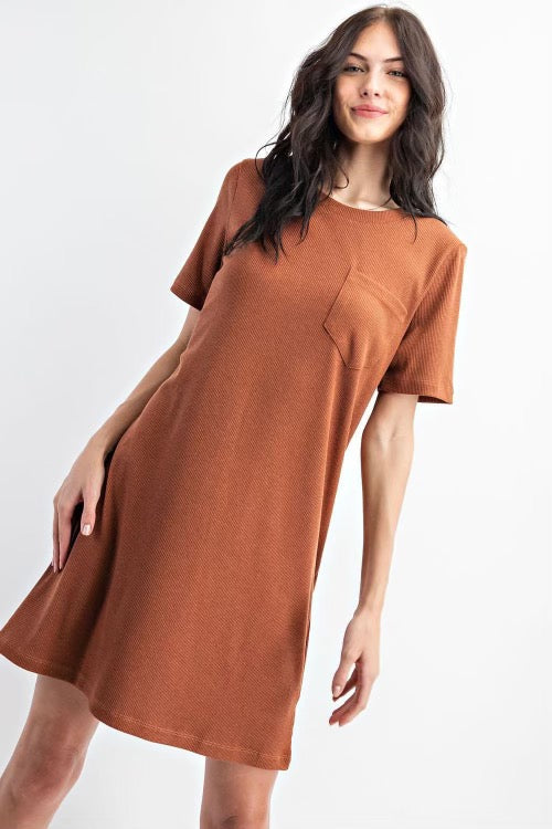 Willow's Rust Dress