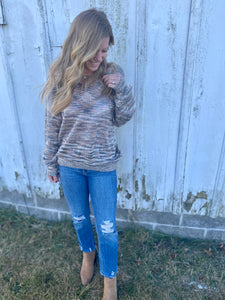 Mocha My Way Sweater