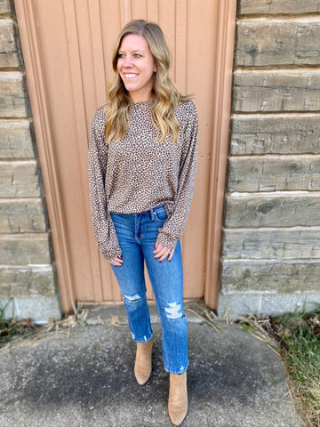 Addie's Animal Print Long Sleeve