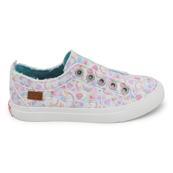 KIDS White Unicloud Play Sneaker