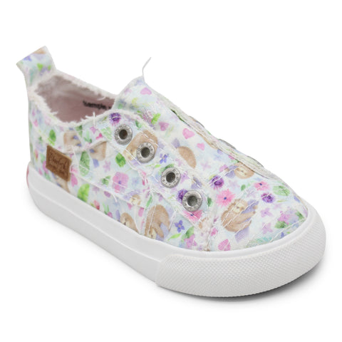 KIDS White Sleepy Sloth Play Sneaker
